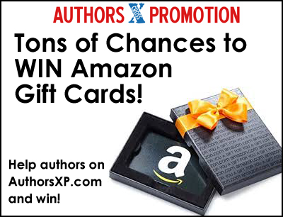 Win Amazon Gift Cards Following Authors Online!