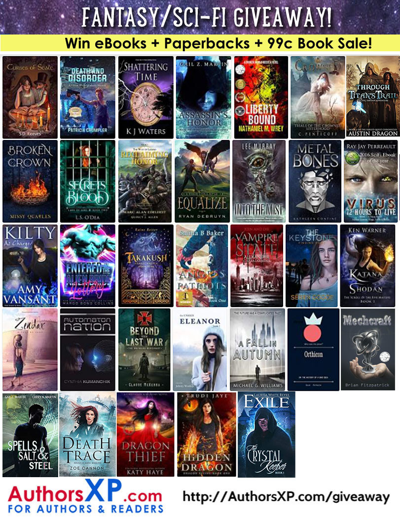 Enter to Win Up To 30 Fantasy eBooks Nov. 8-14
