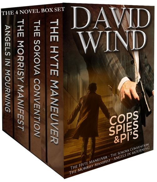 COPS SPIES & PI'S: The Four Novel Box Set