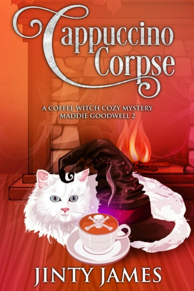 Cappuccino Corpse - A Coffee Witch Cozy Mystery – Maddie Goodwell 2