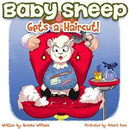 Baby Sheep Gets a Haircut