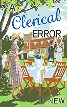 A Clerical Error - The Yellow Cottage Vintage Mysteries Book 3