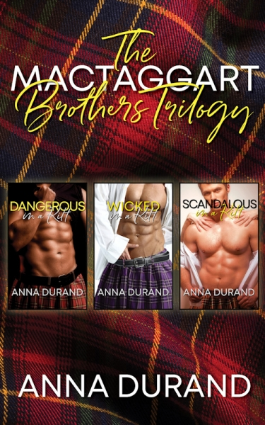The MacTaggart Brothers Trilogy (Hot Scots, Books 1-3)